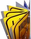 Verkeersbord klapbaar boekwerk met signfaces van diverse verkeersborden