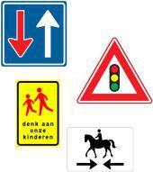 Verkeersbord, alle RVV-Verkeersborden